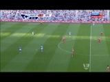 Чемпионат Англии 2012-13 / 3-й тур / Манчестер Сити - КПР / 1 тайм